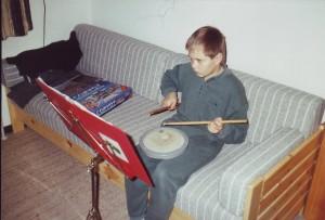 10-årig Steffen øver