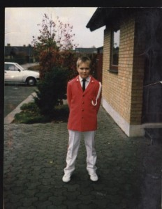 Steffen i uniform